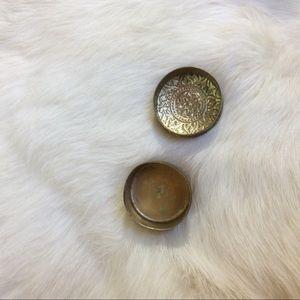 Vintage Storage & Organization - Tiny Ring or Trinket Pill Box